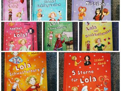Lola-Buchreihe Band 1 bis 8