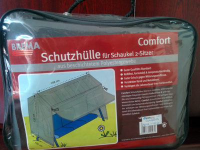 """""""Comfort"""" Schutzhülle für Schaukel 2-Sitzer"""